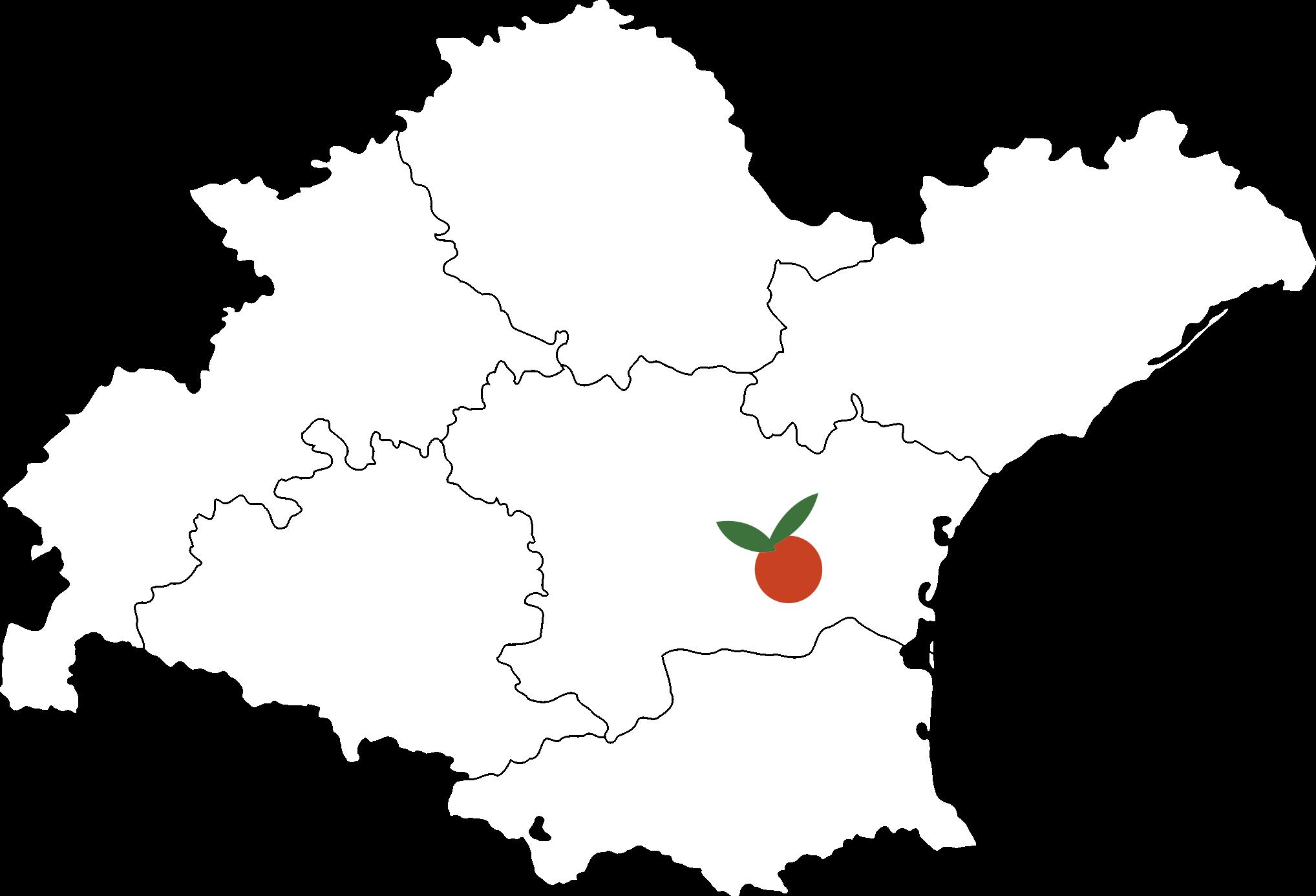 carte sud primeurs